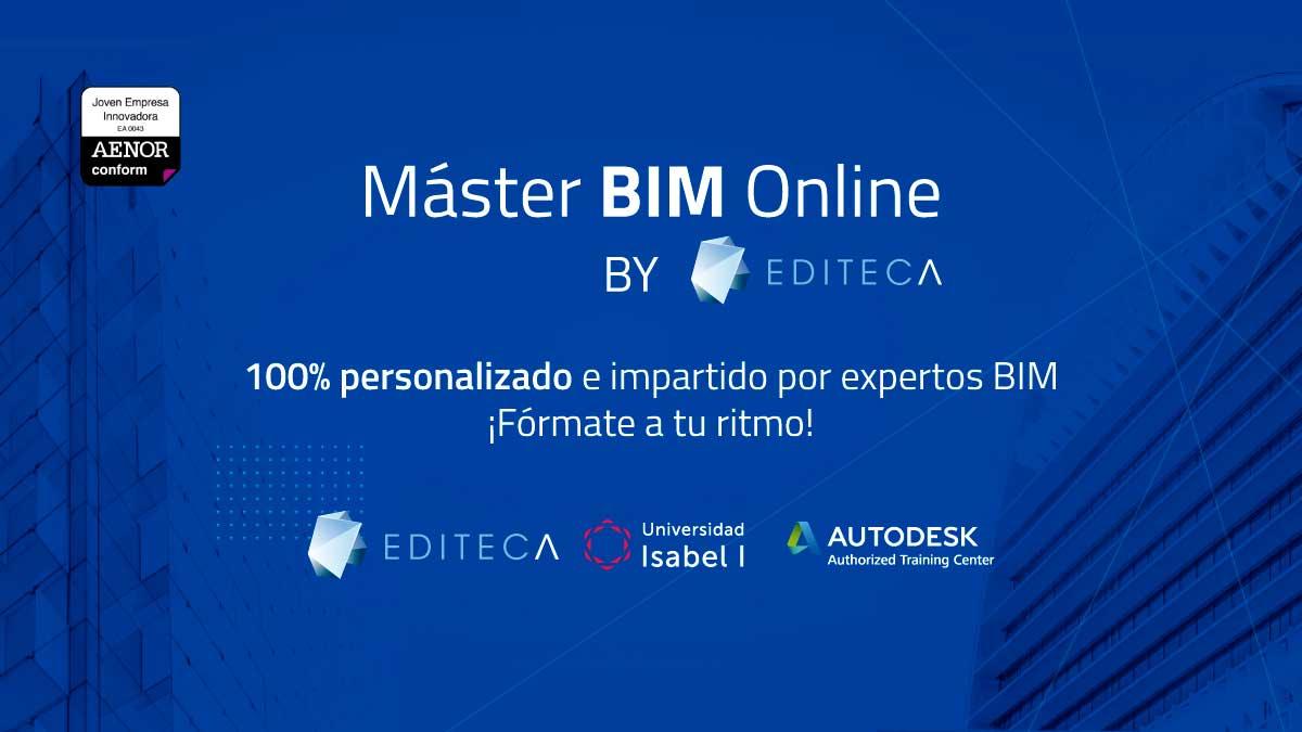 Máster BIM Online | Editeca - Titulación Universidad Isabel I